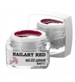 Nailart color gel Red