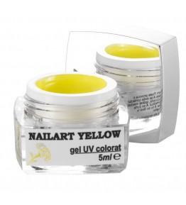 Nailart color gel Yellow