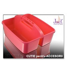 Cutie organizatoare pentru accesorii, culoare ROZ, art. nr.: 10052