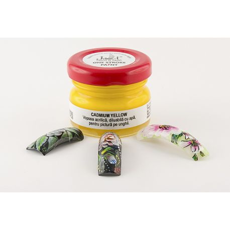 One stroke paint, Cadmium Yellow, art. nr.: 300119