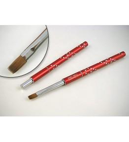 Designer Brush - Crystal Collection, patrata, marimea 6, art. nr.: 40027