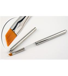 Pensula maner metalic, tesita, marimea 6, art. nr.: 40029