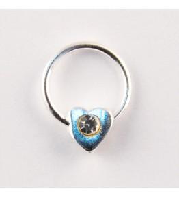 Nail Piercing, inimioara cu cristal, art. nr.: 76831