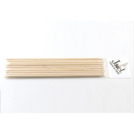 Bat pentru impins cuticula, din lemn de trandafir, 10 buc/set, art. nr.: 300132