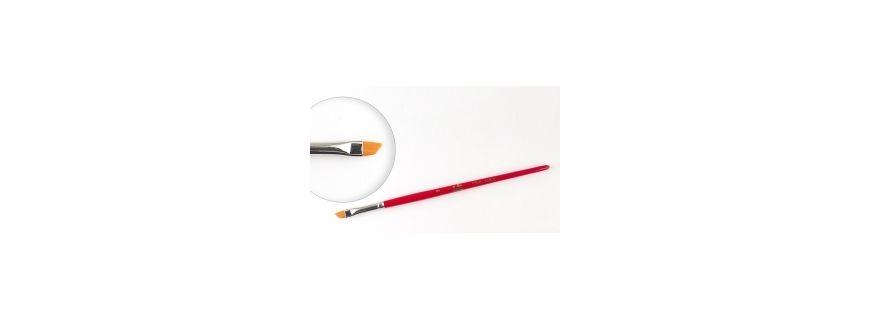 Pensule gel cu maner din lemn - Janet Nails